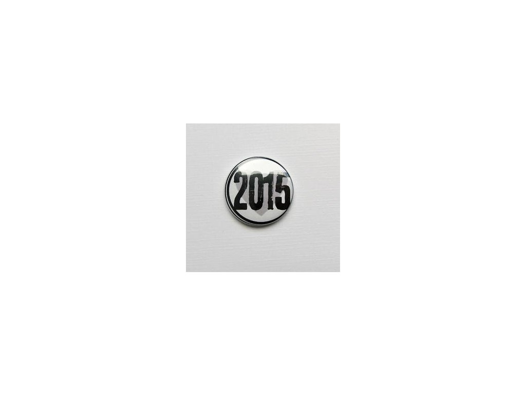 2015 / 31  -  3D button / placka