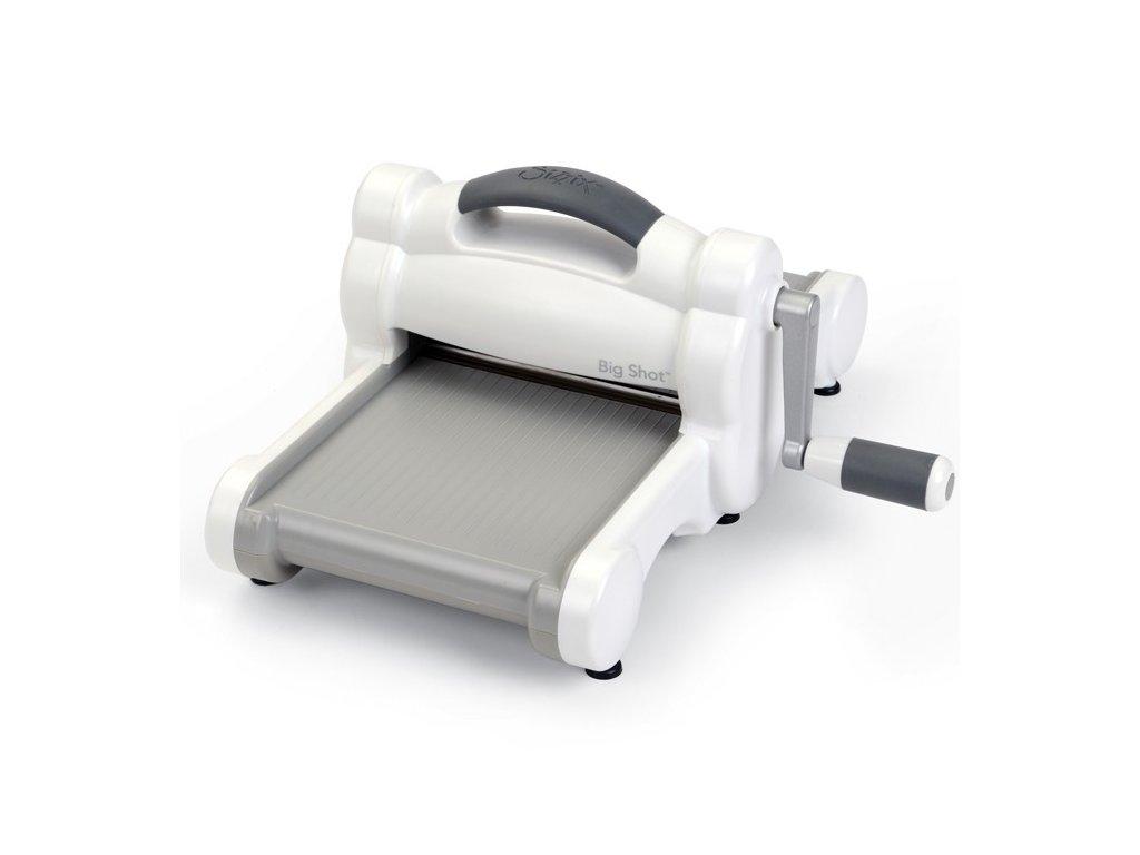 Sizzix - Big Shot Machine / bílo-šedý - vyřezávací a embossovací strojek