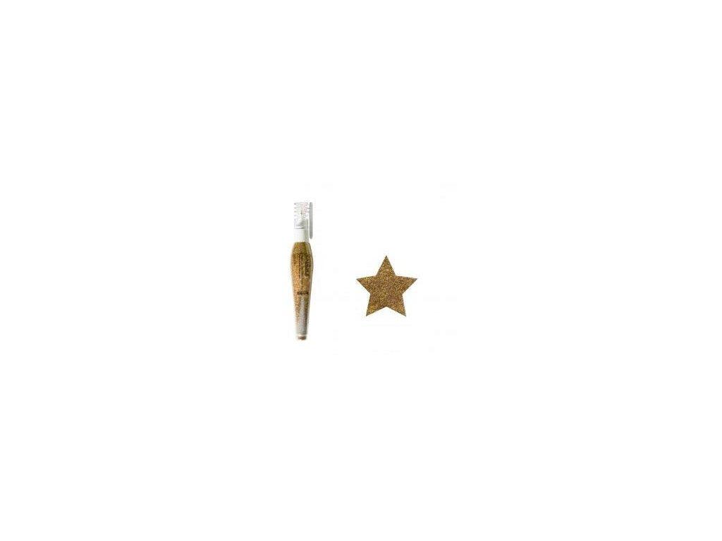 Cadence - GOLD 354 / třpytky v tužce, holografické zlaté