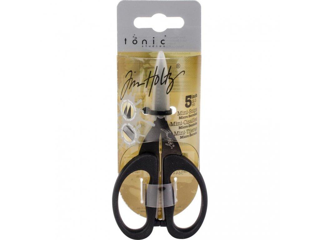 "Tonic Studio - 5"" Non Stick nůžky - Tim Holtz"
