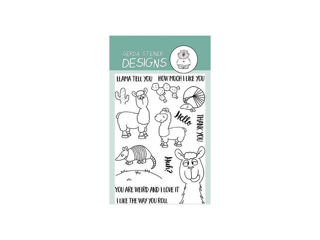 Gerda Steiner Designs Clear Stamps Llama Tell You GSD533 image1 91673.1491949693.600.600