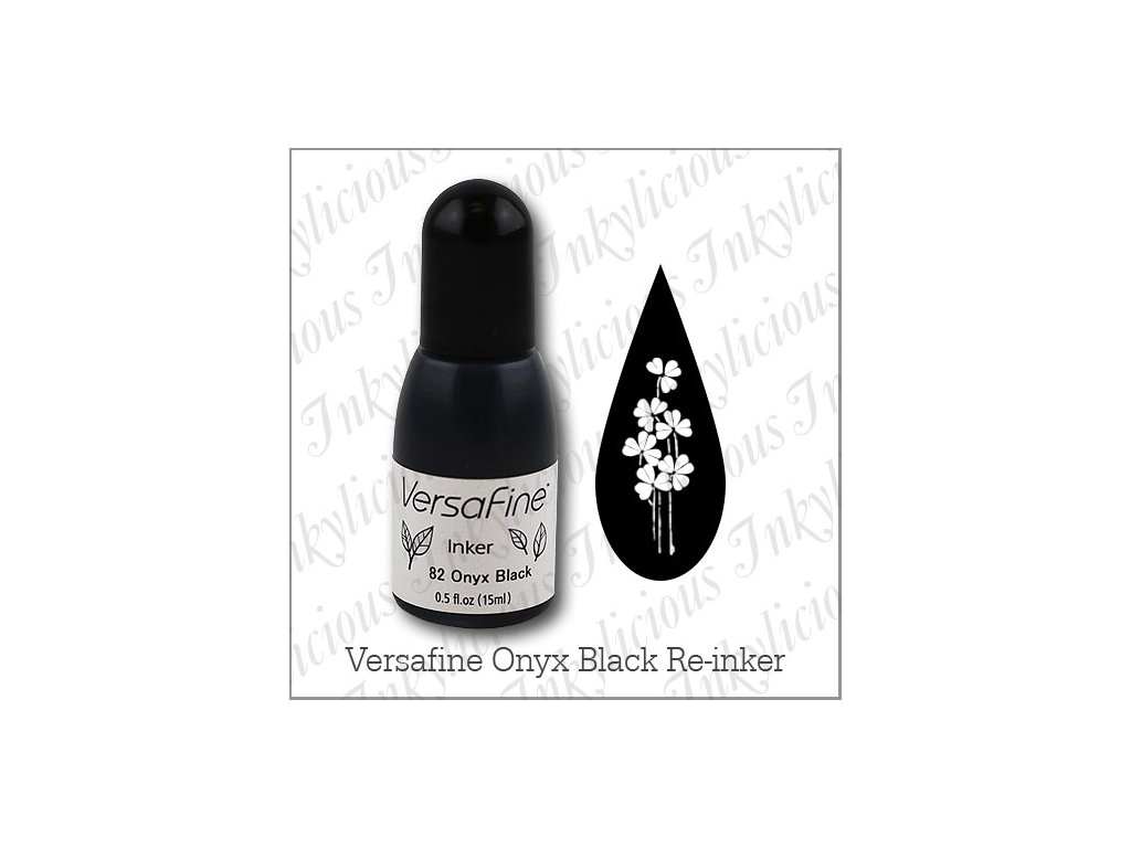 VersaFine Onyx Black re inker