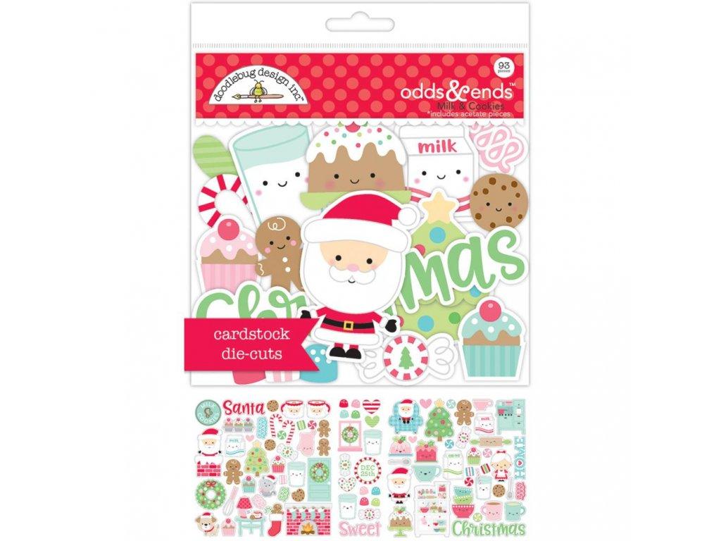 Doodlebug design - MILK&COOKIES - papírové obrázky
