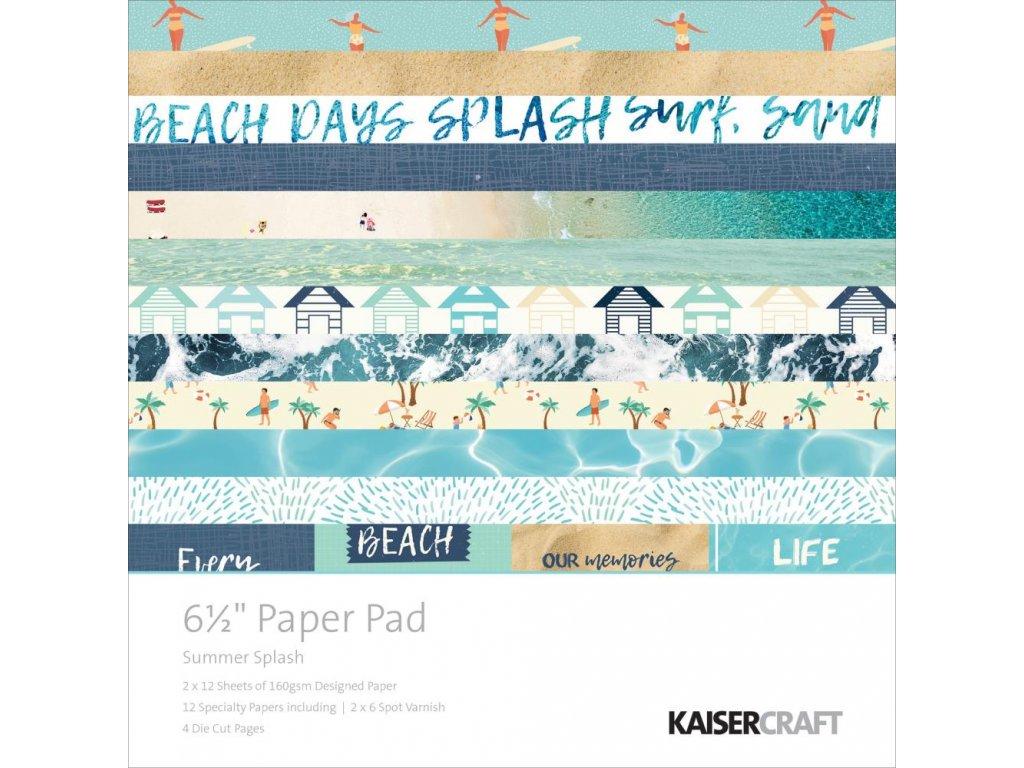 """Kaisercraft - SUMMER SPLASH - 6 1/5"""" kompletní scrapbooková sada"""