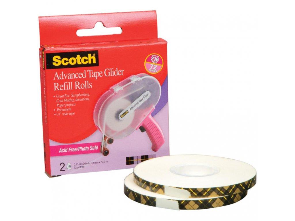 Scotch - Advanced Tape Glider & Tape - náhradní náplň, 2 ks