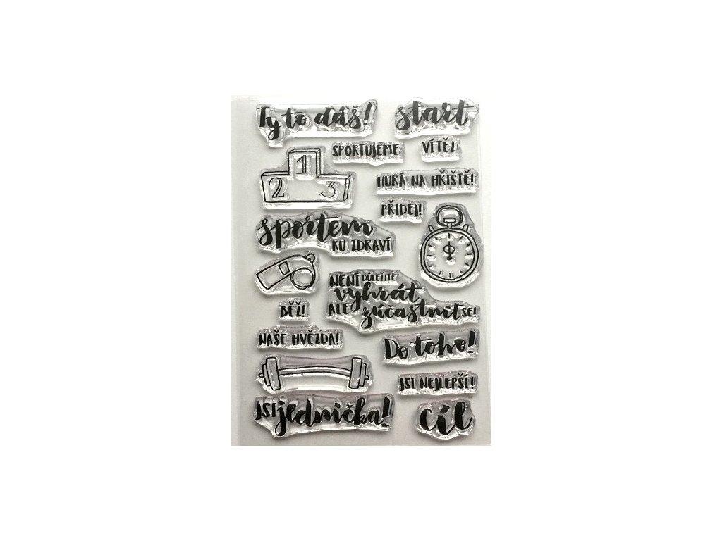 Hurá Papír - silikonová razítka - DO TOHO!