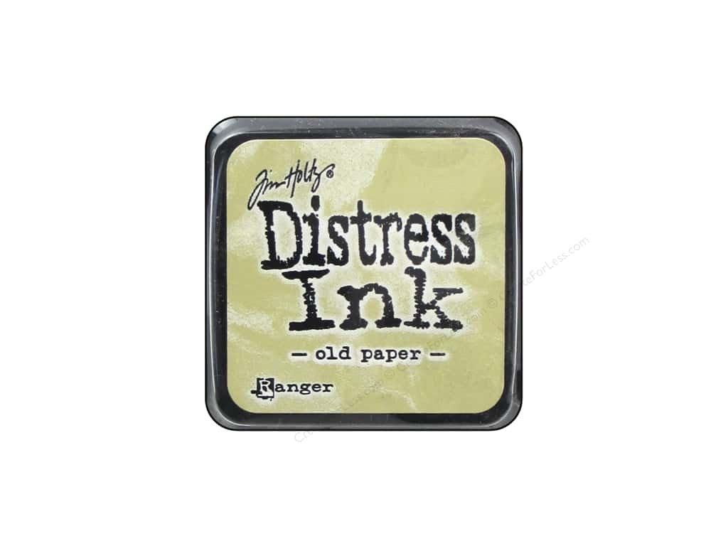 Distress Ink - OLD PAPER  / mini - razítkovací barva