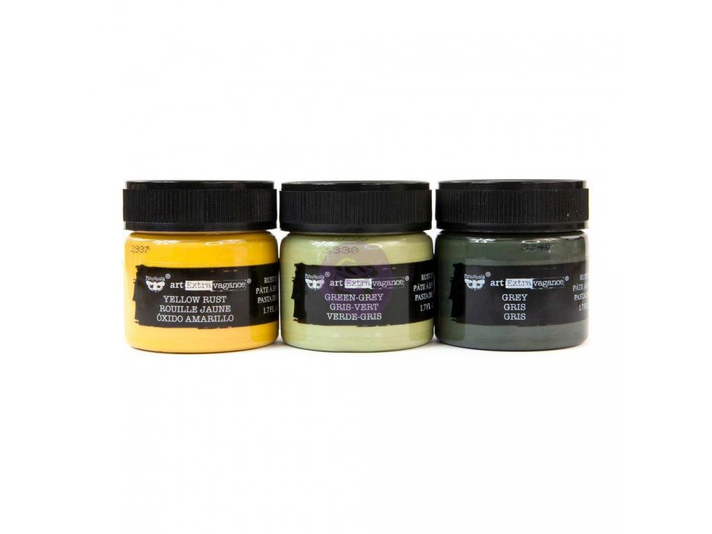 Prima Marketing - MILITARY SET - 3x barevná pasta