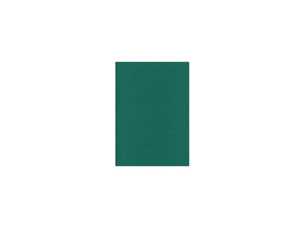 Card Deco - LINEN / EMERALD 448 - A4, strukturované čtvrtky, 10 ks