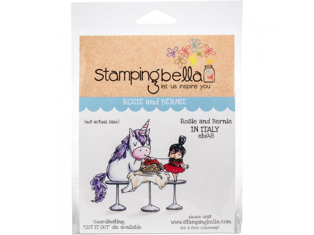 Stamping Bella - ROSIE AND BERNIE - cling gumové razítko