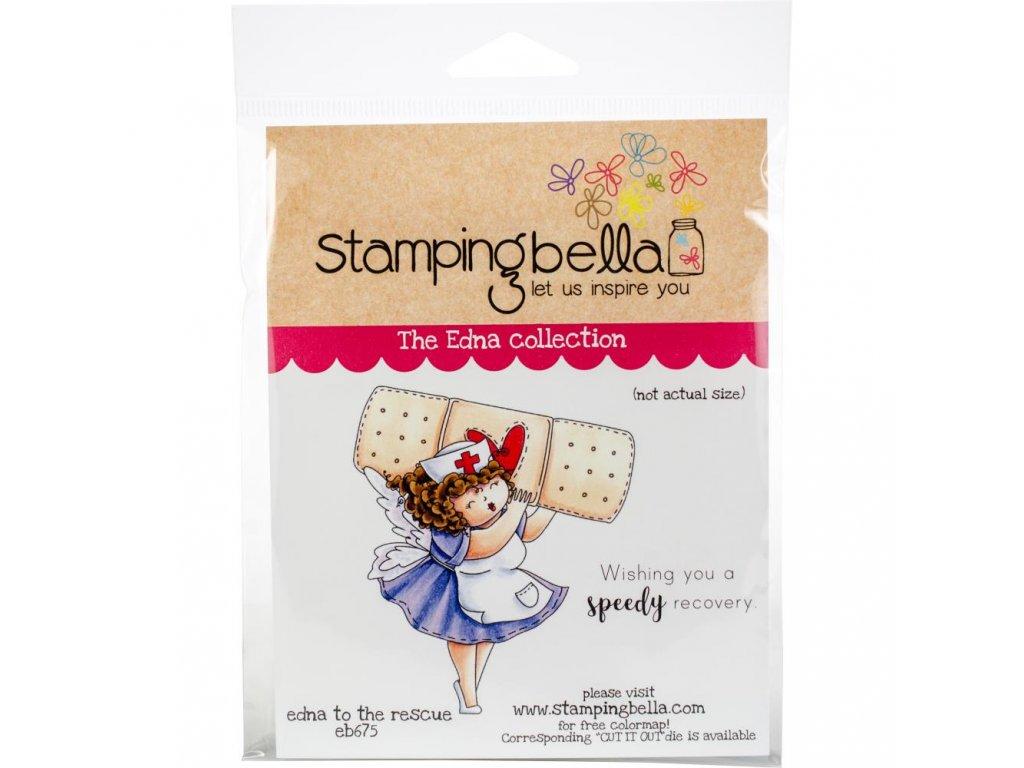 Stamping Bella - RESCUE - cling gumové razítko