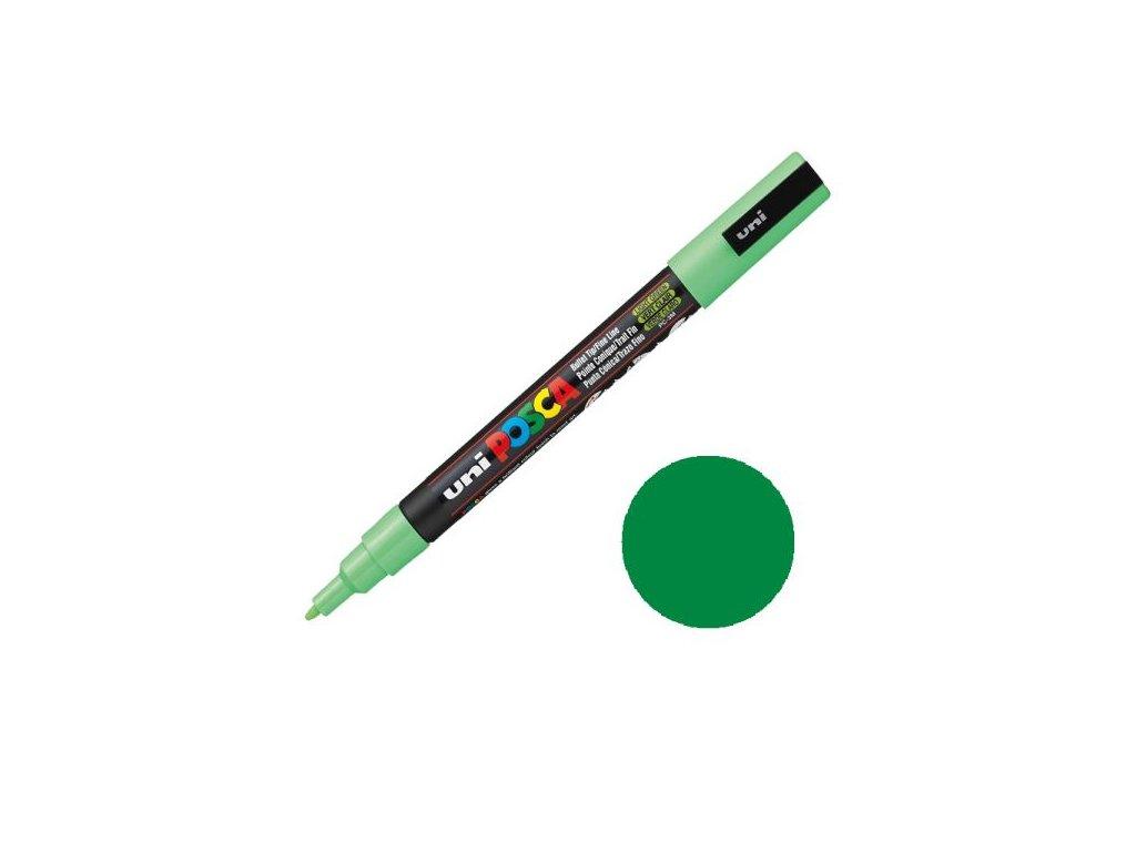 akrylovy fix 3m 1 5mm zelena