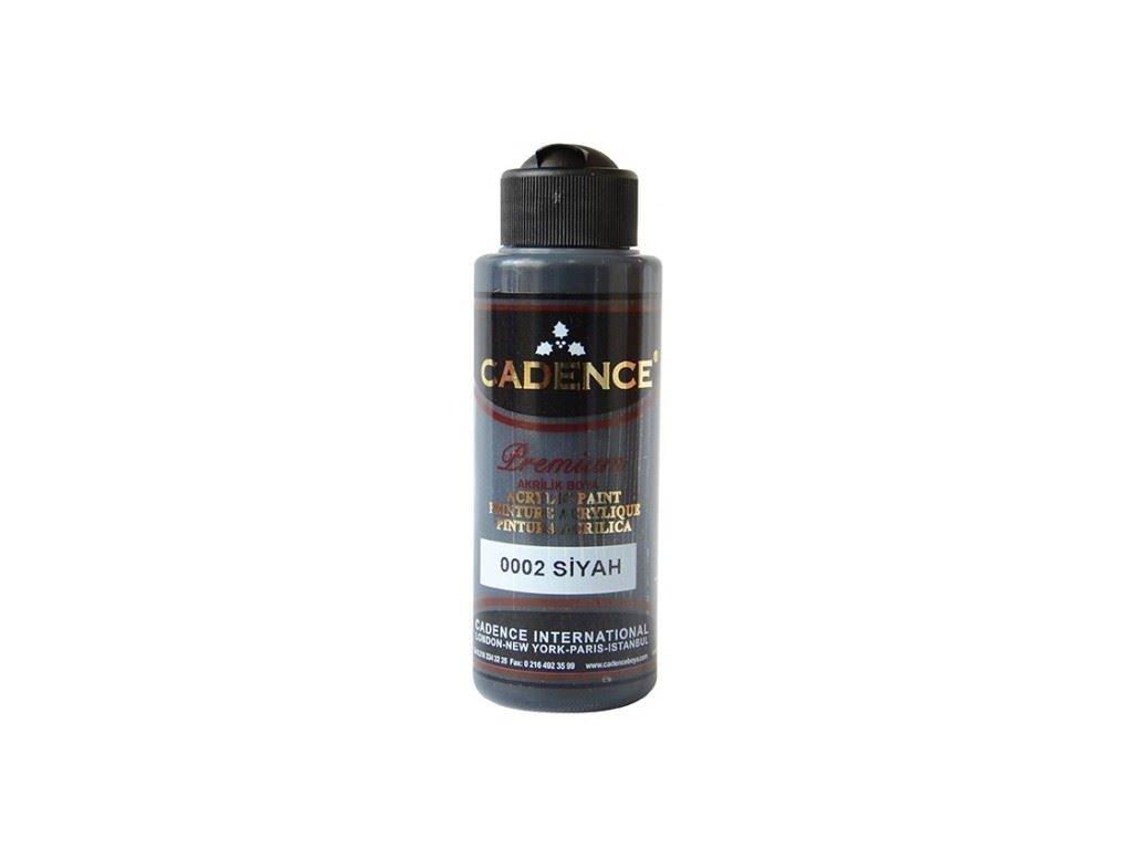 akrylova barva premium black
