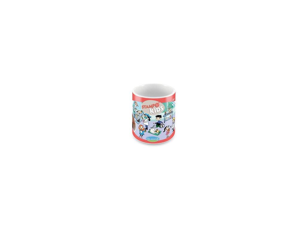 Aladine -  STAMPO KIDS / zvěrolékařka - gumová razítka
