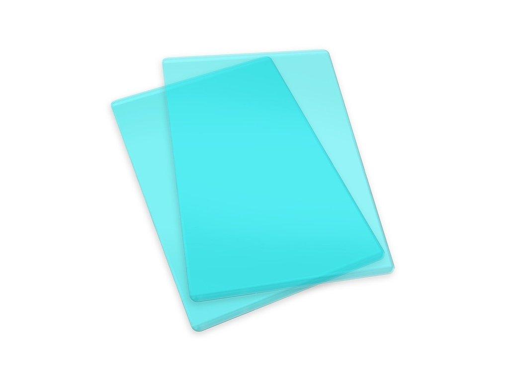 Sizzix - Cutting Pad, Standard  / tyrkysové - řezací desky na Big Shot