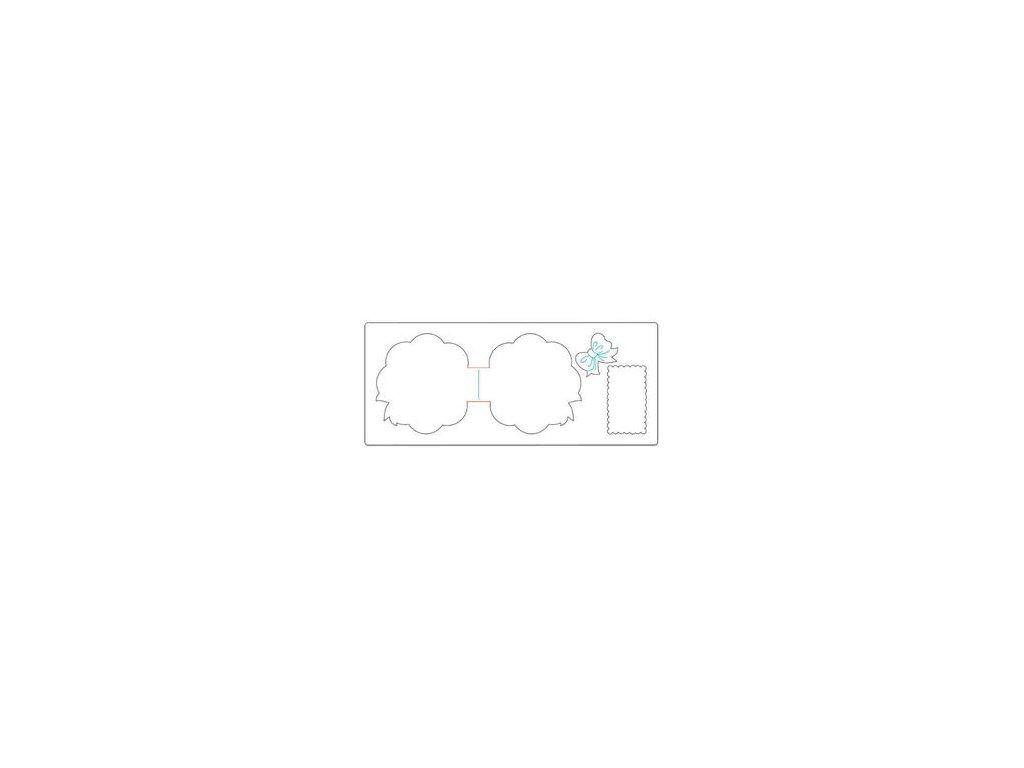 xl card circle scallop amp bow 657758 600a