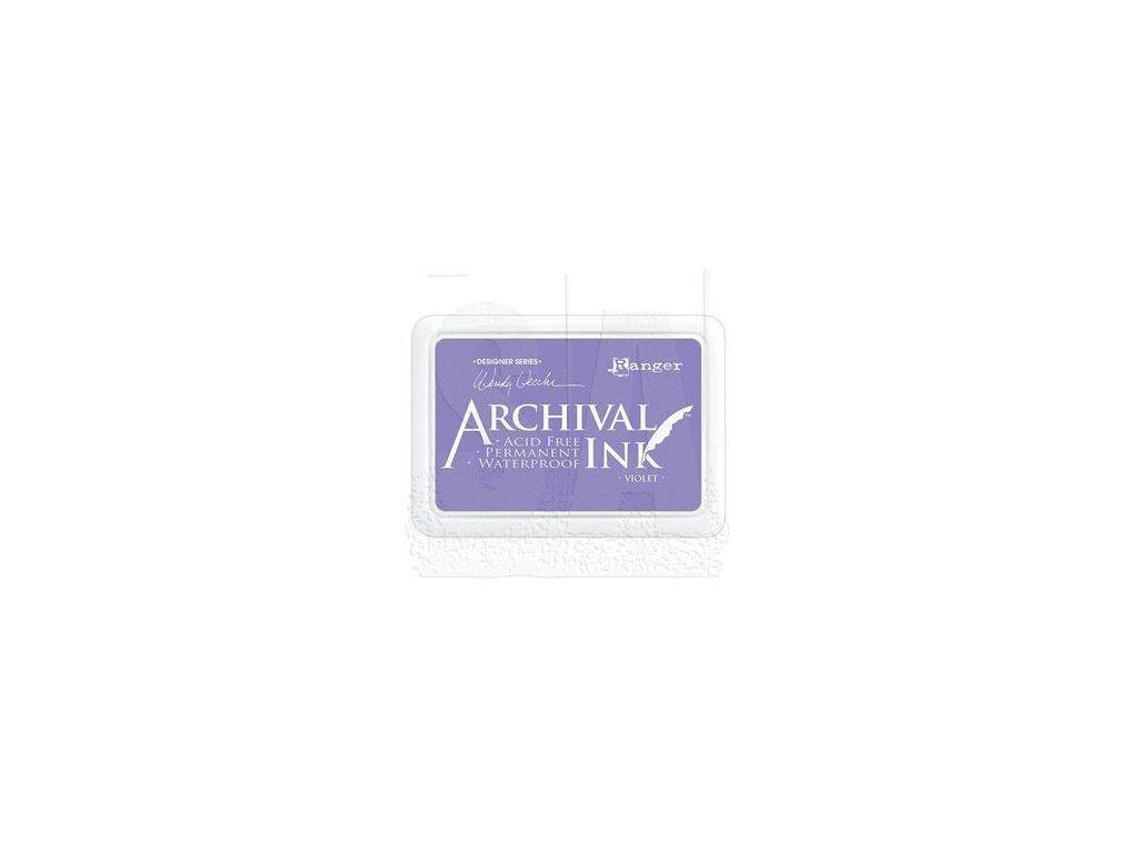 wendy vecchi archival ink pad violet aid45687
