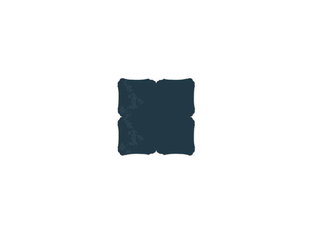 vita bella 12x12 decorative edge cardstock blue vb 134