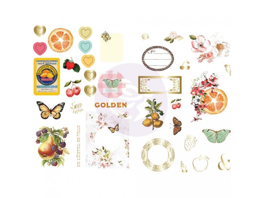Prima Marketing - FRUIT PARADISE - papírové obrázky
