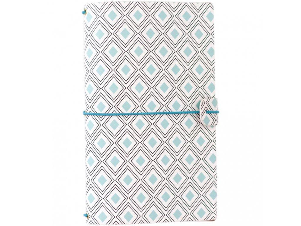 "Freckled Fawn - MINT / STANDART SIZE / 5.75 x 9"" - traveler´s notebook - obal + 2 deníčky"