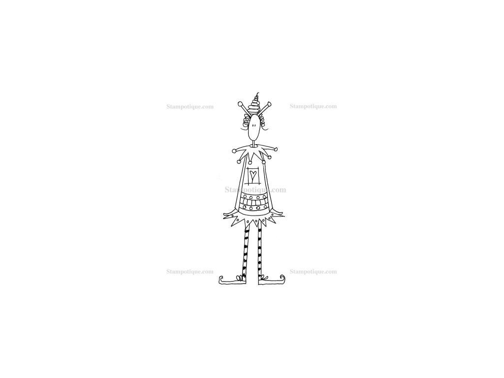 stampotique jester kate crane 4217 p