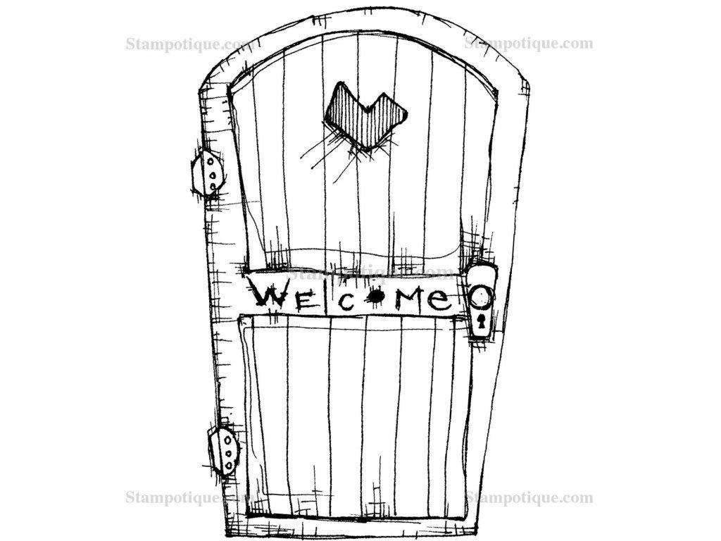 6095p Welcomedoor