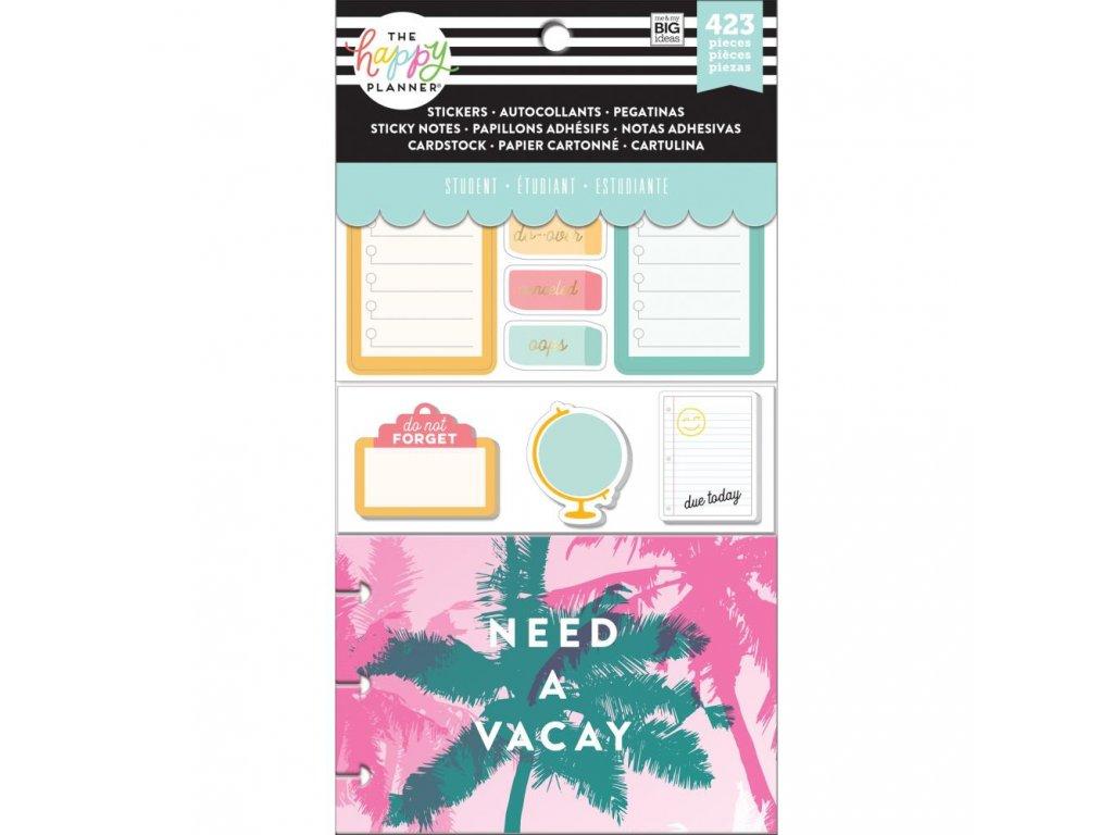 Me&My Big Ideas - THE HAPPY PLANNER / TEACHER / Stay Sharp (student) - diářové samolepky