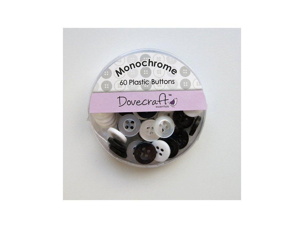 Dovecraft - MONOCHROME - knoflíky