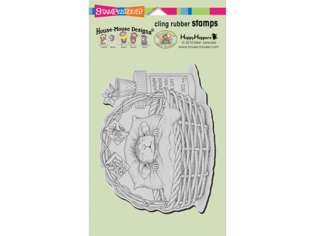Stampendous - HOUSE MOUSE - QUICK RECOVERY - cling gumové razítko