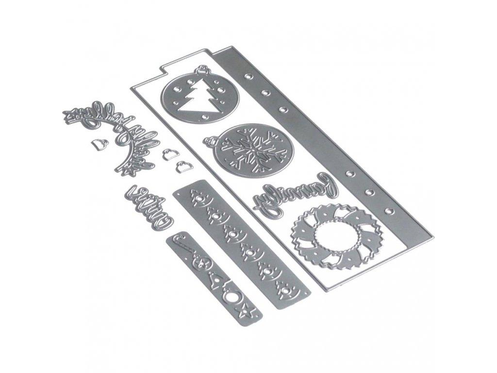 Elizabeth craft designs - 1676 / PLANNER / Essentials 15  - vyřezávací kovová šablona
