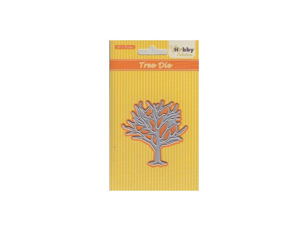 Hobby Solution - TREE DIE / strom - vyřezávací kovová šablona