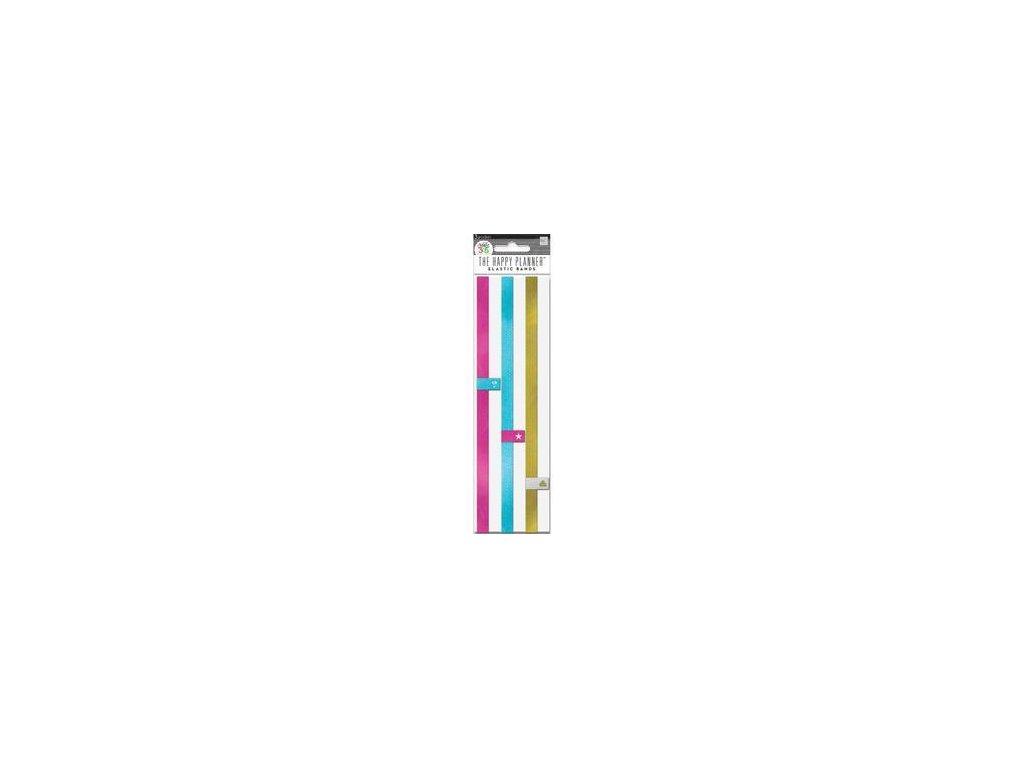 Me&My Big Ideas - CREATE 365 PLANNER / ELASTIC BANDS - ozdobná guma na uzavření diáře