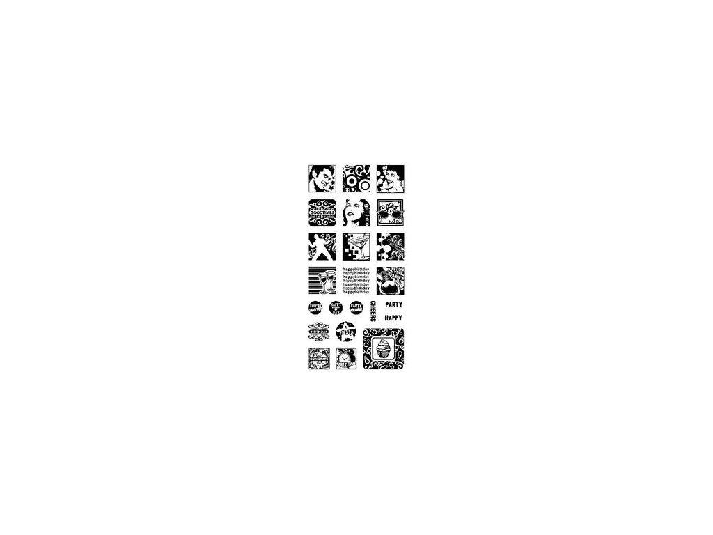 AKCE!!! Inkadinkado - CELEBRATIONS - silikonová razítka