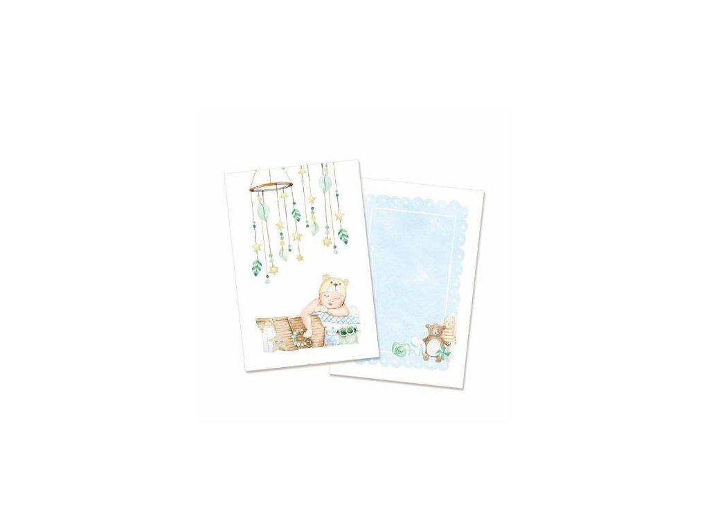zestaw kart baby joy chlopiec 6x4