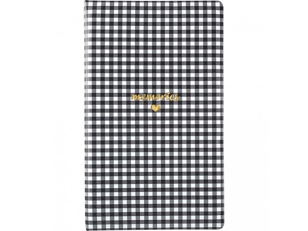 Websters Pages - Color Crush Tall Creative Photo Album / Black Check - album
