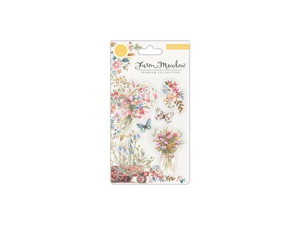 Craft Consortium Clear Stamp Florals 27 m