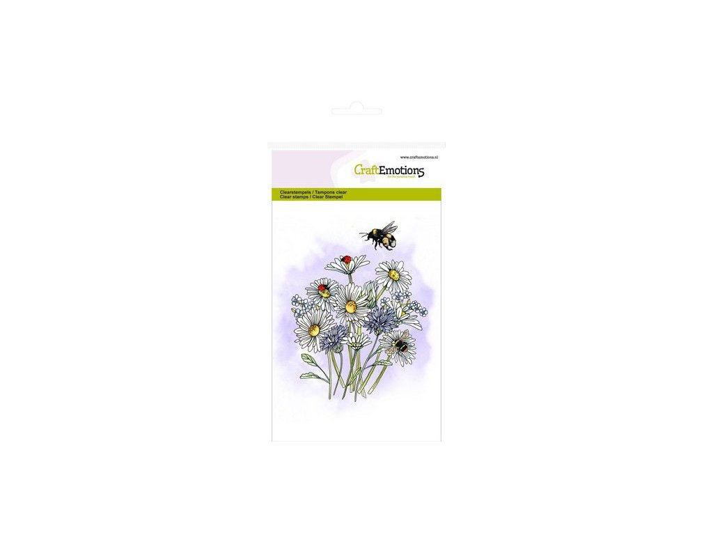 craftemotions clearstamps a6 wild flowers 1 gb 313259 en G