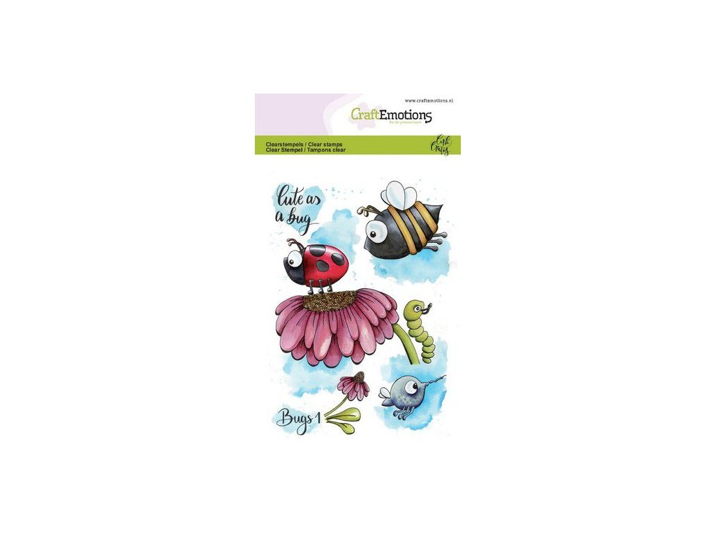 craftemotions clearstamps a6 bugs 1 carla creaties 05 19 312127 en G