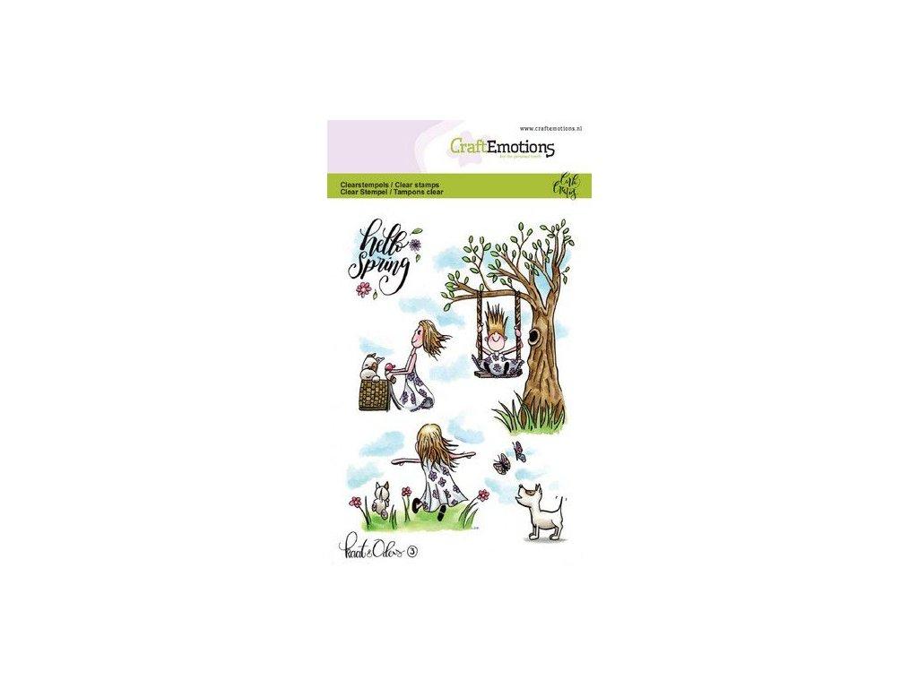 craftemotions clearstamps a6 kaat en odey 3 spring carla creati 311051 en G