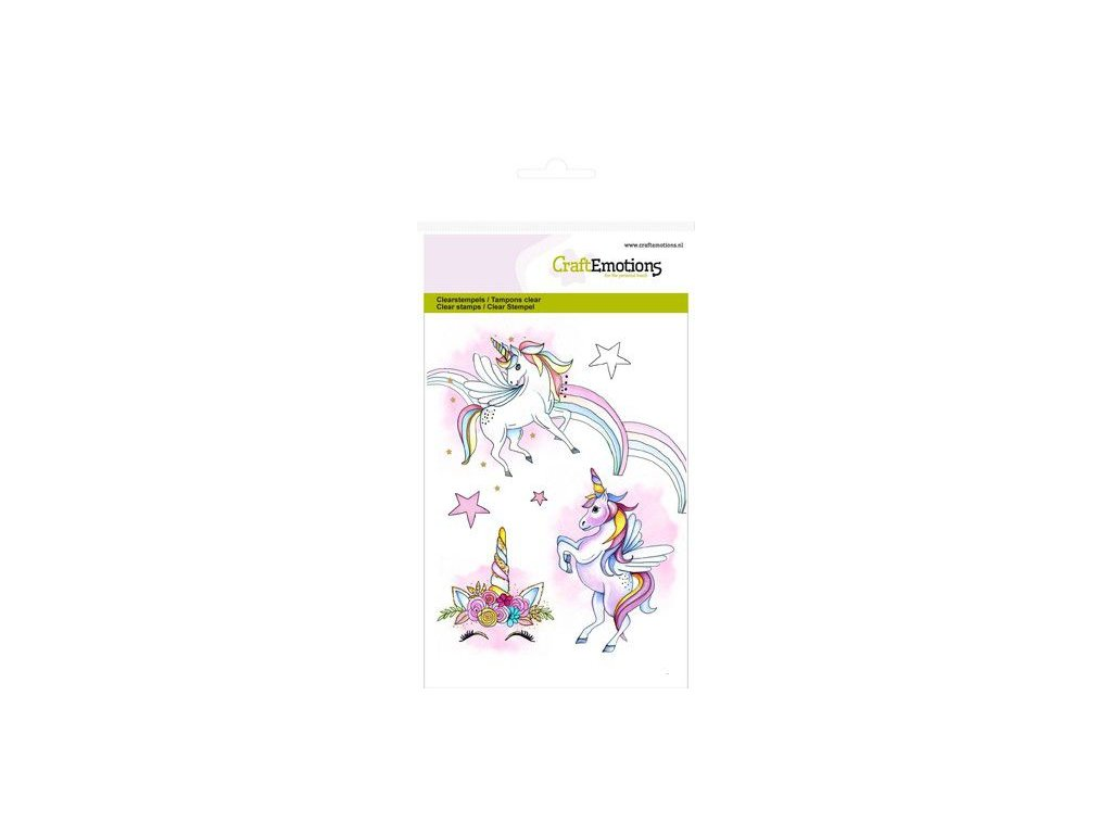 craftemotions clearstamps a6 unicorn gb 08 19 313596 en G