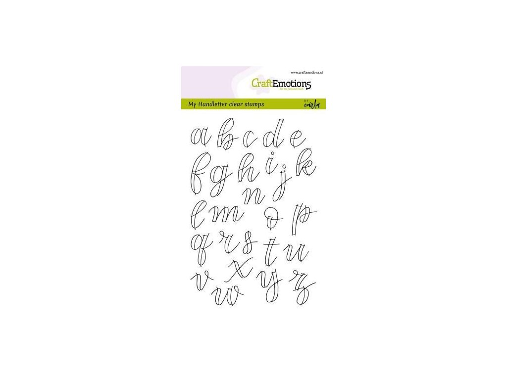craftemotions clearstamps a6 hand letter alphabet lc open c 308824 en G