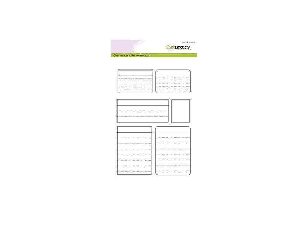 craftemotions clearstamps a5 planner essentials frames 03 2 315309 en G