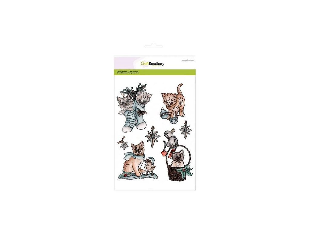 craftemotions clearstamps a5 christmas pets 2 306039 en G