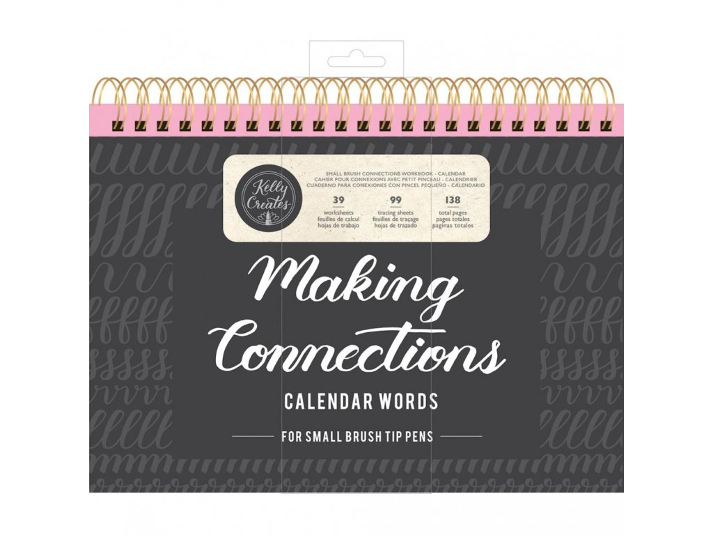Kelly Creates - MAKING CONNECTIONS / CALENDAR WORDS - písanka na krasopsání, měsíce