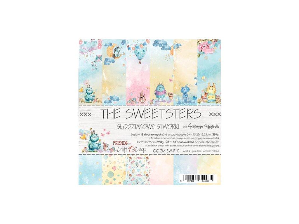"Craft o clock - THE SWEETSTERS - 6"" scrapbooková sada čtvrtek"