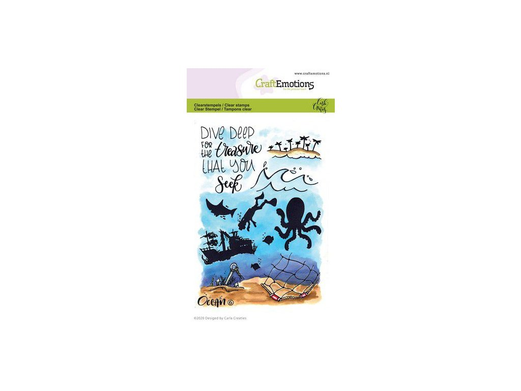 craftemotions clearstamps a6 ocean 6 carla creaties 03 20 315418 nl G