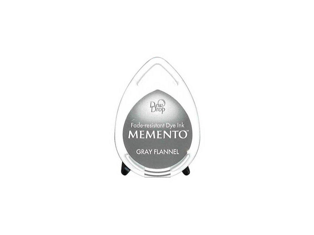 gray flannel dew drop memento ink pad