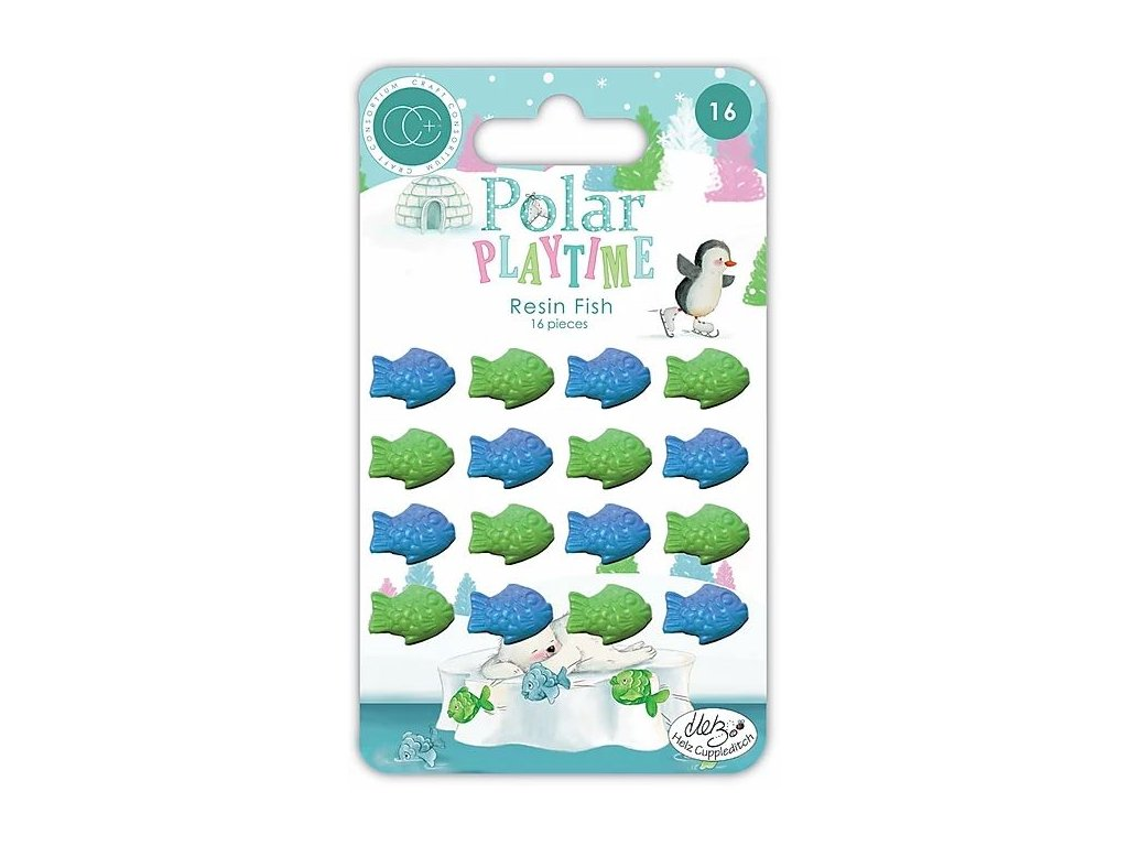 craft consortium polar playtime resin fish