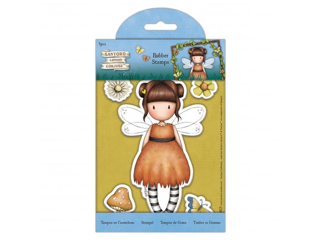 gorjuss rubber stamps little pumpkin 5pcs gor 9071