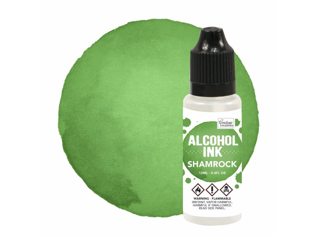 aacouture creations alcohol ink shamrock 12ml co7273